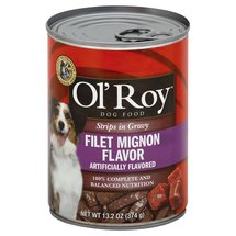 Ol' Roy Strips In Gravy Filet Mignon Flavor Dog Food