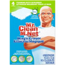 Mr. Clean Magic Eraser Bathtub Cleaner & Scrubber Sponge, 4ct.