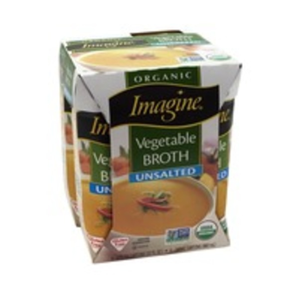 Imagine Foods Organic Unsalted Vegetable Broth