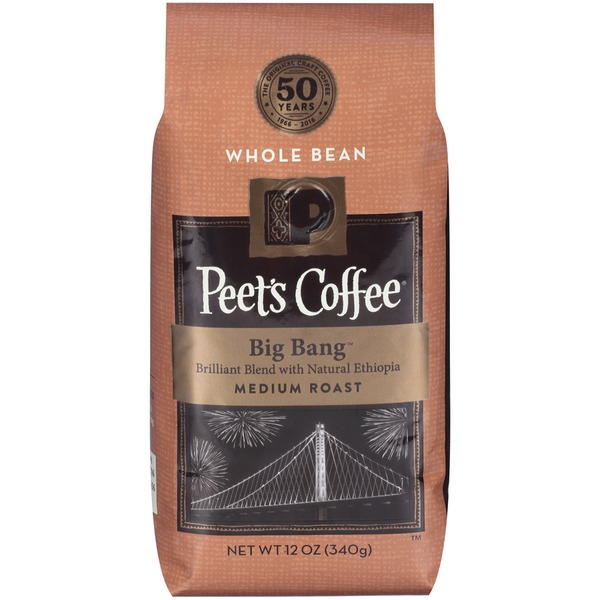 Peet's Coffee & Tea Big Bang  Medium Roast Whole Bean Coffee