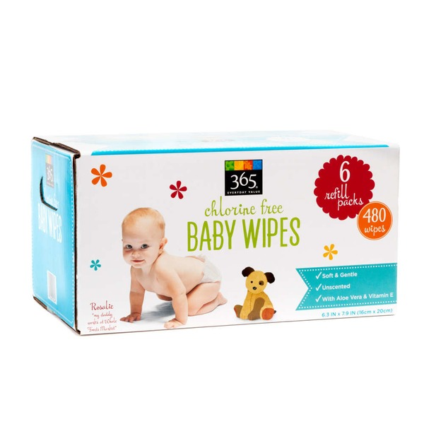 365 Baby Wipes