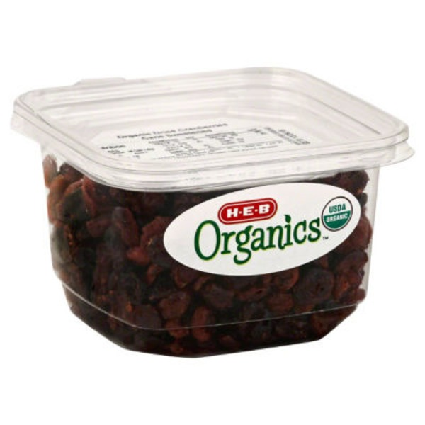 H-E-B Organics Dried Cranberries