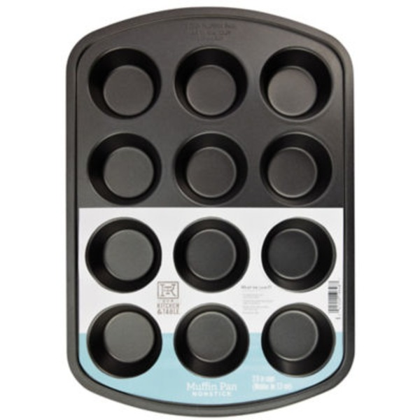 H-E-B Kitchen & Table 12 Cup Muffin Pan
