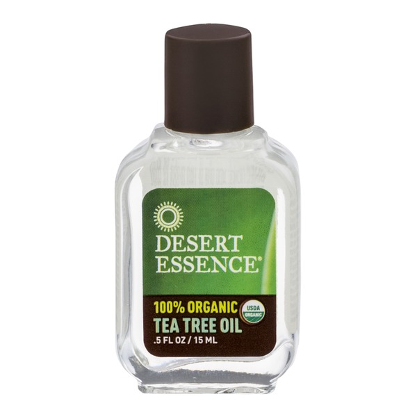 Desert Essence 100% Organic Tea Tree Oil