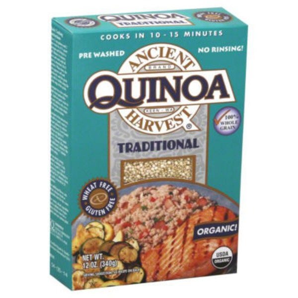 Ancient Harvest Gluten-Free Traditional Quinoa Organic Grains