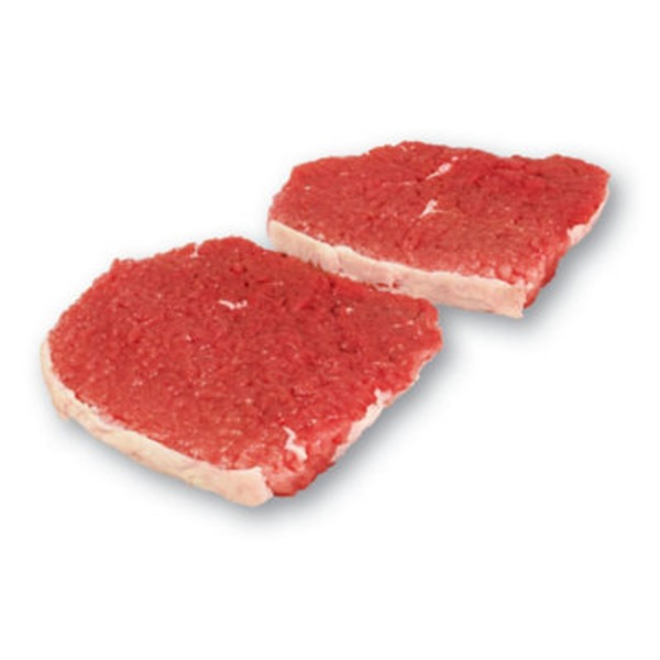 USDA Select Tenderized Eye Of Round Steaks