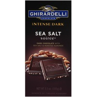 Ghirardelli Chocolate Intense Dark Sea Salt Soiree Chocolate