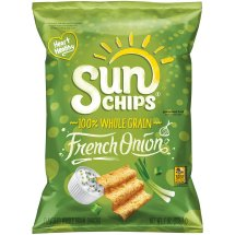 SunChips® French Onion Flavored Whole Grain Snacks, 7 oz. Bag