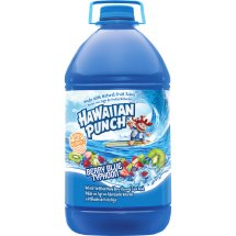Hawaiian Punch Fruit Juice, Berry Blue Typhoon, 128 Fl Oz, 1 Count