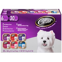 Cesar Variety Pack Canine Cuisine in Meaty Juices Wet Dog Food