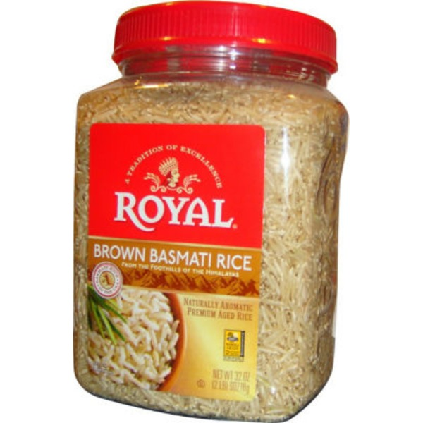Royal Brand Basmati Brown Rice