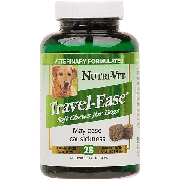 Nutri-Vet Travel Ease Car Sickness Dog Soft Chews