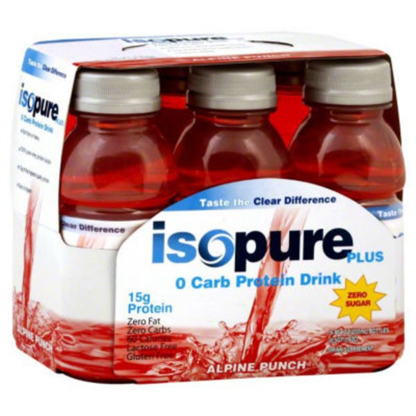 Isopure Alpine Punch Zero Carb Protein Drink