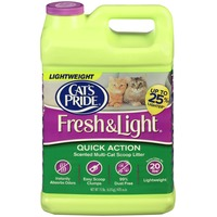 Cat's Pride Fresh & Light Quick Action Scented Multi-Cat Scoop Litter Cat Litter
