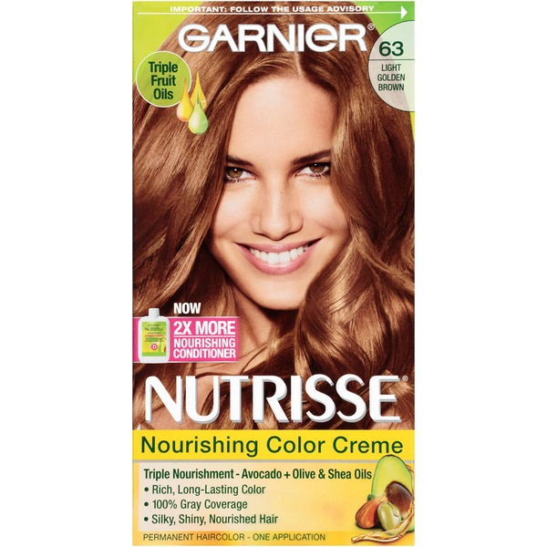 Nutrisse® 63 Light Golden Brown (Brown Sugar) Nourishing Color Creme