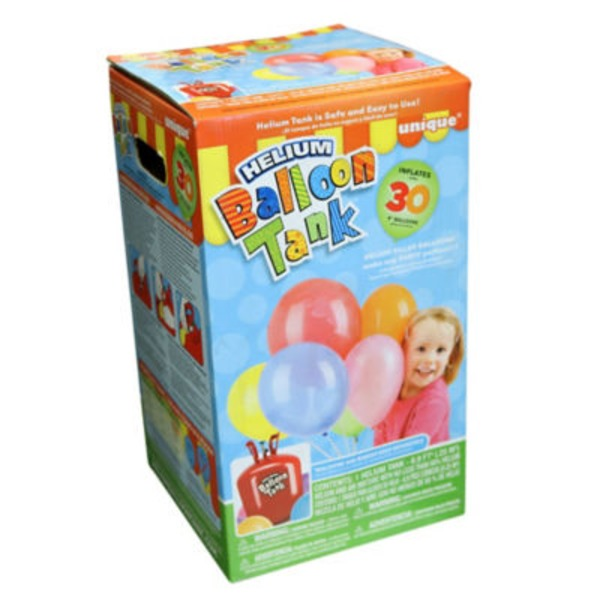 Unique 9 In. Helium Tank Balloons