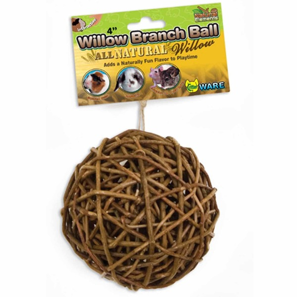 CritterWare Willow Gardens Branch Ball Chew Toy