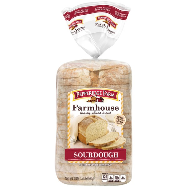 Pepperidge Farm Fresh Bakery Sourdough Hearty Sliced Bread