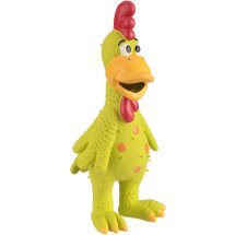 Latex Chicksworth Dog Toy, Color Will Vary, 1 Count
