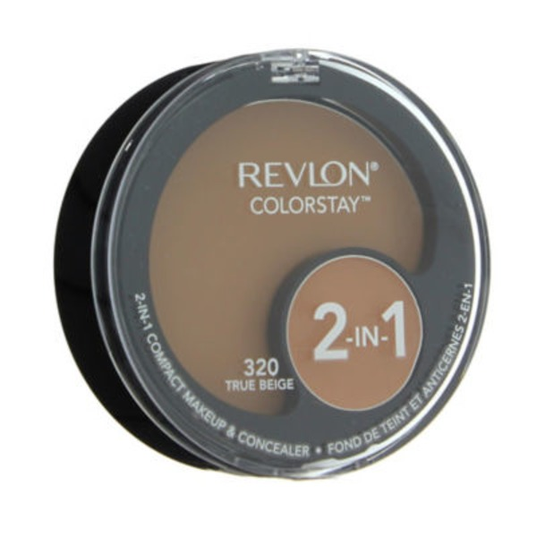 Revlon Color Stay 2 In 1 Compact Makeup & Concealer320 True Beige