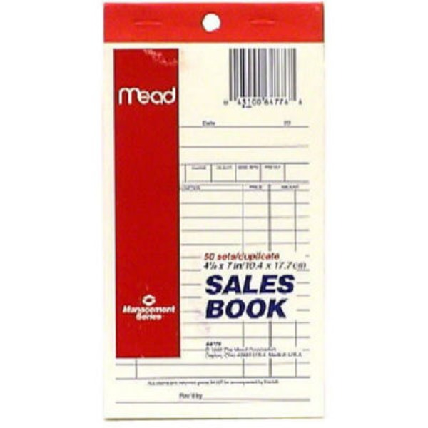 Mead Management Series Sales Book 50 Sets/Duplicate