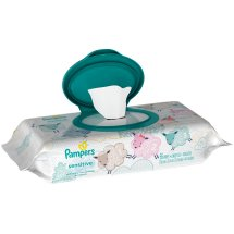 Pampers Sensitive Baby Wipes, Unscented (56 count)