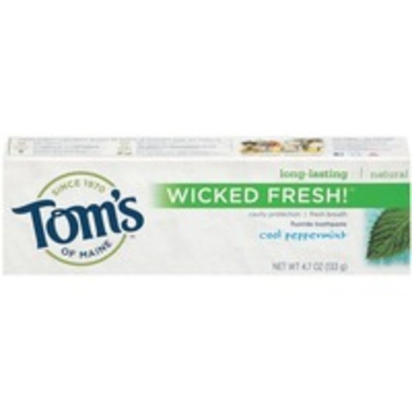 Tom's of Maine Wicked Fresh! Cool Peppermint Toothpaste