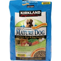Kirkland Signature Super Premium Mature Adult (7+Yrs) Dog Foods