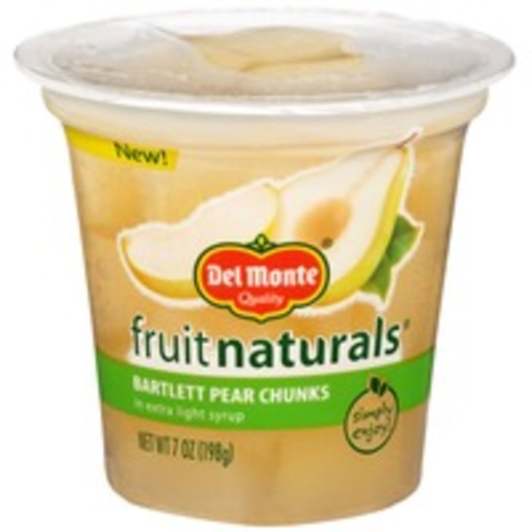 Fruit Naturals Bartlett in Extra Light Syrup Pear Chunks