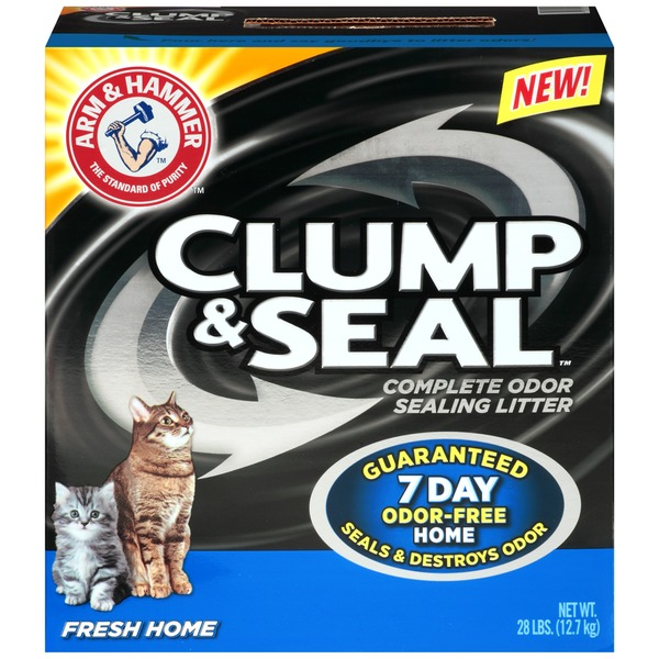 Arm & Hammer Clump & Seal Fresh Home Cat Litter