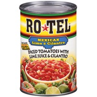 Ro*Tel W/Lime Juice & Cilantro Mexican Festival Diced Tomatoes