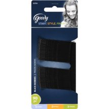 Goody Bobby Pins, Black 03704, 90 count