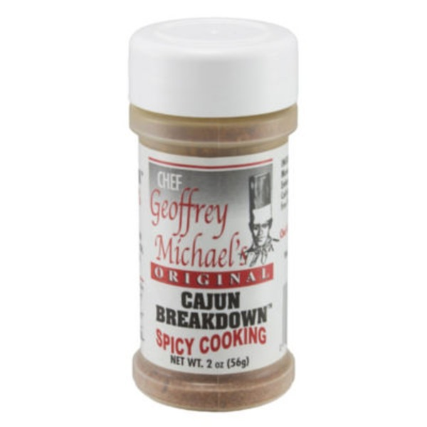 Chef Geoffrey Michael's Original Cajun Breakdown Spicy Cooking