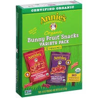 Annie's Homegrown Bunny Variety Pack Fruit Snacks
