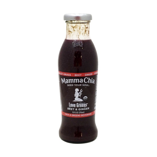 Mamma Chia Beverage, Love Greens, Chia & Greens, Beet & Ginger