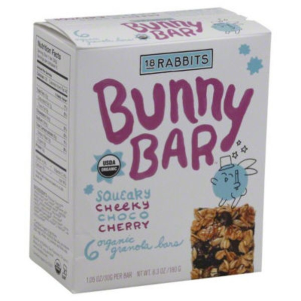 18 Rabbits Jr. Organic Chocolate Cherry Granola Bars