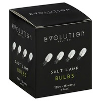 Evolution Salt Bulbs, Salt Lamp, 15 Watts