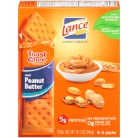 Lance Toast Chee Peanut Butter Cheese Crackers