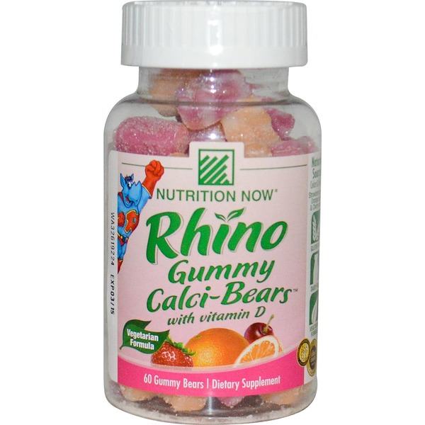Rhino Calci Bears Gummies Dietary Supplement