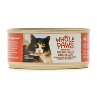 Whole Paws Grain-Free Shredded Chicken In Gravy Cat Food
