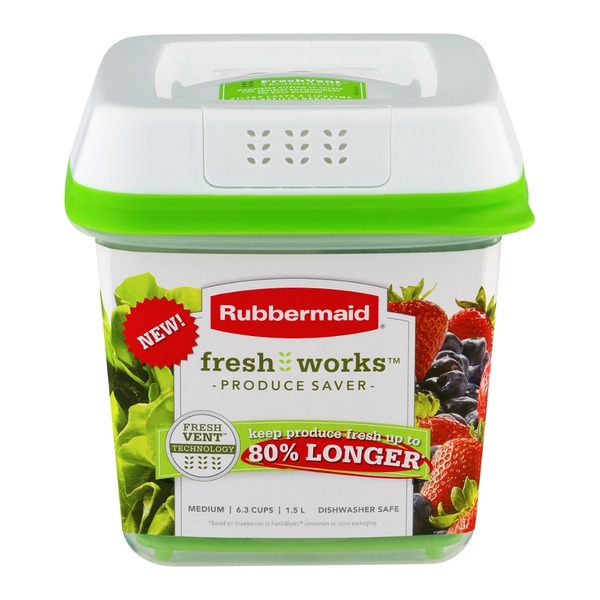 Rubbermaid Fresh Works Produce Saver Medium