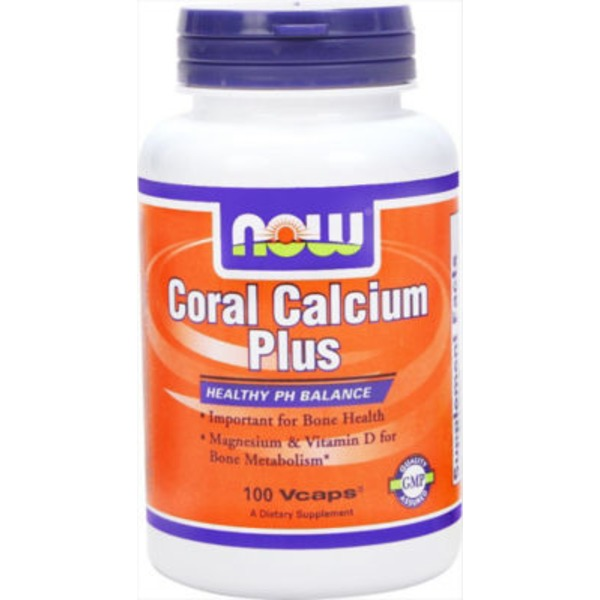Now Coral Calcium With Mag & D