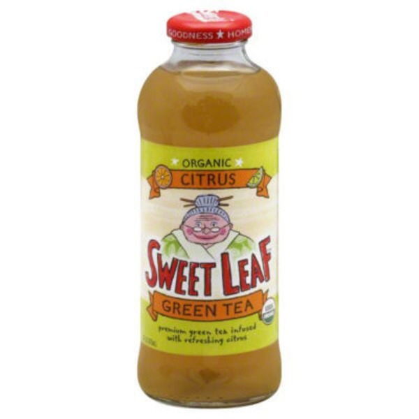 Sweet Leaf Tea Co Citrus Green Tea