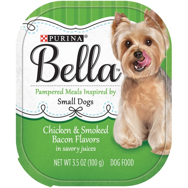 Bellas Chicken & Smoked Bacon Flavors in Savory Juices Dog Food