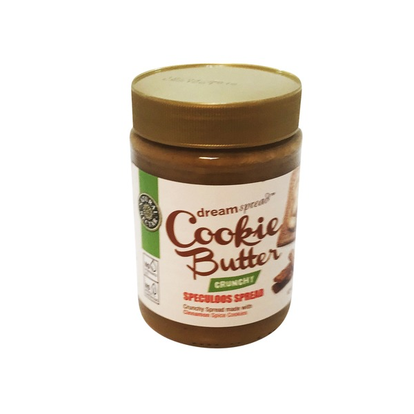 Natural Nectar Cookie Butter Crunchy Speculoos Spread