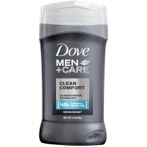 Dove Men+Care Clean Comfort Deodorant Stick, 3.0 Oz