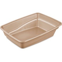Sterilite, Large Cat Litter Pan, Camel