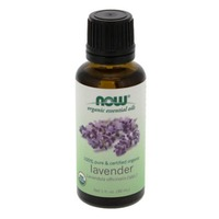 Now 100% Pure & Certified Organic Lavender Oil