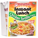 Maruchan Instant Lunch Hot & Spicy Chicken Tortilla Flavor Ramen Noodle Soup, 2.25 oz