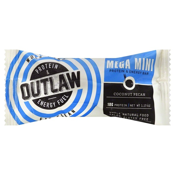 Outlaw Protein & Energy Fuel Coconut Pecan Mini Bar